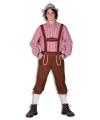 Oktoberfest lange lederhose broek