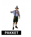 Oktoberfest pakket oktoberfest kleding maat 3xl met accessoires heren