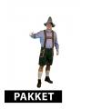 Oktoberfest pakket oktoberfest kleding maat l met accessoires heren