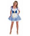 Oktoberfest sexy bayern jurkje voor dames