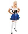 Oktoberfest tiroler bierfeest jurkje voor dames