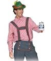 Oktoberfest tiroler blouse voor heren