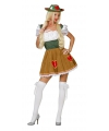 Oktoberfest tiroolse heidi kostuum