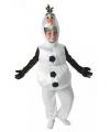 Olaf frozen kostuum voor peuters