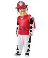 Paw patrol kostuum marshall voor kids