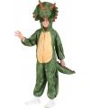 Pluche dino kostuum voor kinderen