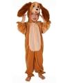 Pluche honden kostuum kinderen