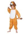 Pluche leeuwen outfit voor kinderen