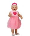 Prinsessen jurk roze voor babys