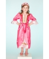 Prinsessen jurk roze
