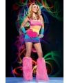 Regenboog sixties jurkje