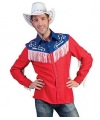 Rodeo cowboy shirt voor heren