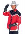 Rood cowboy overhemd voor heren