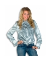 Rouches blouse zilver dames