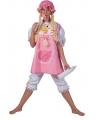 Roze babypak voor volwassenen