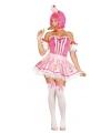 Roze cupcake jurkje voor dames