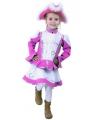 Roze dansmarieke kostuum voor kinderen