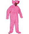 Roze olifant kostuum voor volwassenen