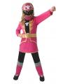 Roze power ranger kostuum voor kinderen