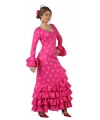 Roze spaanse verkleedjurk