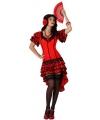 Sexy flamenco jurkje voor dames