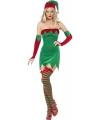 Sexy kerstelf pakje voor dames