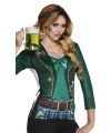 Shirt st patricks day opdruk dames