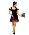 Spaanse flamenco jurk incl accessoires