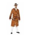 Steampunk wilde westen kostuum voor heren