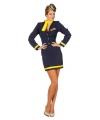 Stewardess kostuum voor dames