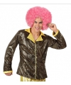 Toppers goud disco glitter jasje voor heren