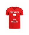 Toppers verkleed cowboy shirt wanted beer voor heren