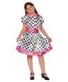 Voordelig polkadot jurkje voor meiden
