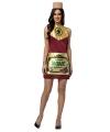Wijnfles jurkje voor dames