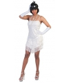 Wit charleston jurkje voor dames