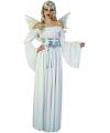 Witte jurk met vleugels