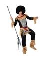 Zulu kostuum voor heren met zebra print