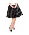 Zwarte fifties rok met petticoat voor dames