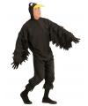Zwarte kraai kostuum voor volwassenen