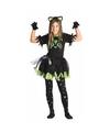 Zwarte poes kat kostuum voor meisjes