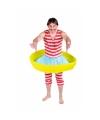 Zwemmer kostuum met zwembadje