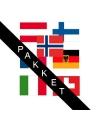 Stickers van Apres Ski thema landen