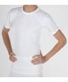 Warmte shirt wit met korte mouwen