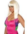 Blonde Nicki pruik voor dames