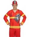 Compleet brandweer kostuum voor heren