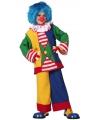 Clown verkleedkleding voor kinderen
