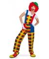 Clown Pebbi verkleedkostuum voor volwassenen