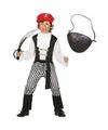 Compleet piraten kostuum maat 128 134 voor kinderen