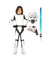 Compleet space trooper kostuum maat 122 134 voor kinderen