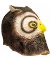 Uil verkleed masker van latex